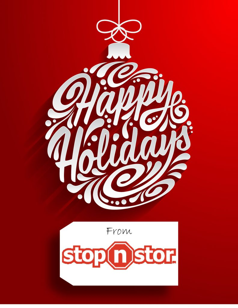 Happy Holidays from Stop N Stor