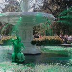 Greening of the Fountain in Savannah