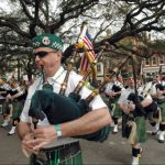 Pipers in the St. Patrick's Day Parade
